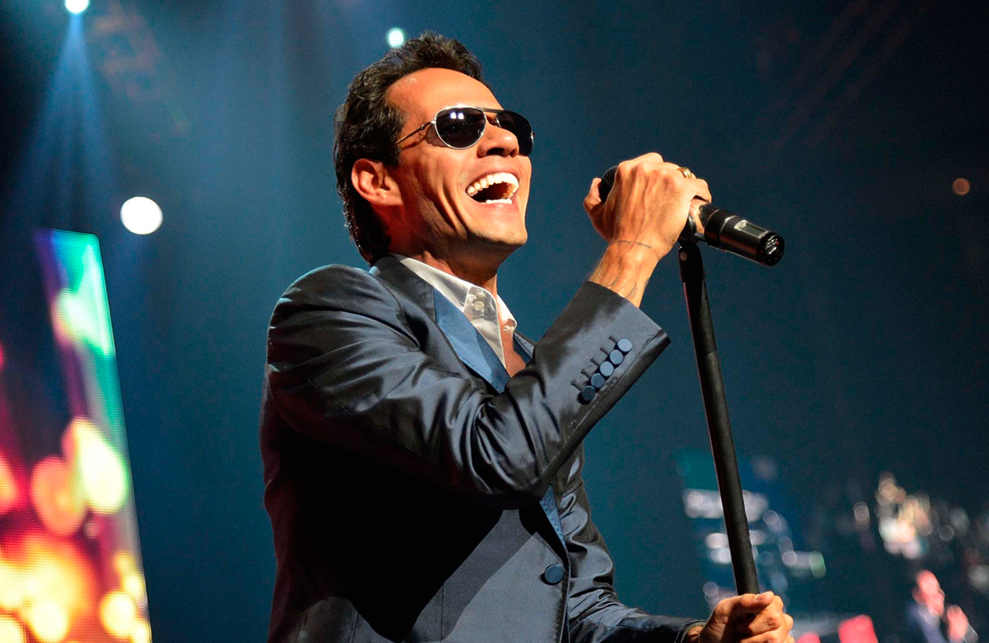 Marc Anthony at the Prudential Center - February 11
