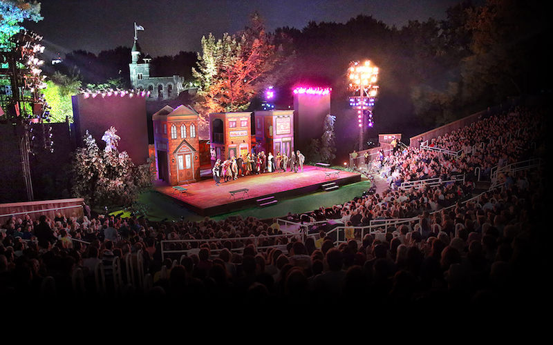 Shakespeare in the (Central) Park - Through June 26