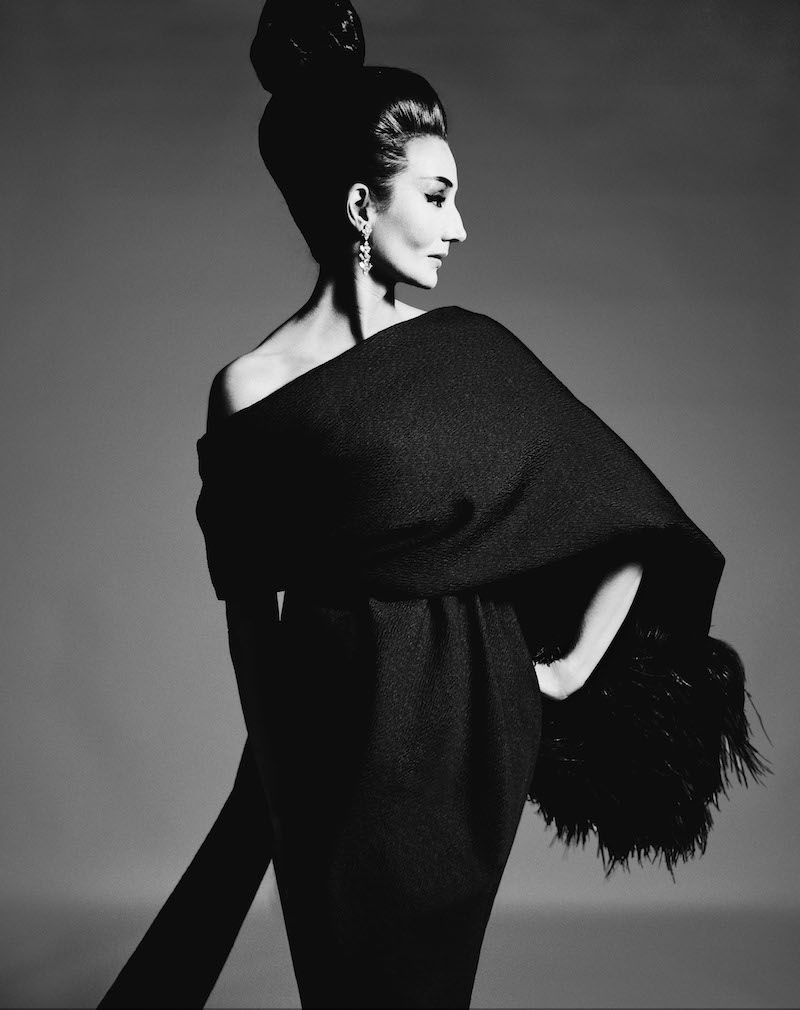 02.Jacqueline de Ribes by Richard Avedon, 1962