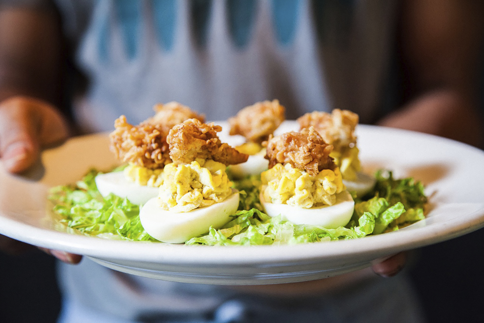 deviled-eggs-with-fried-shrimp